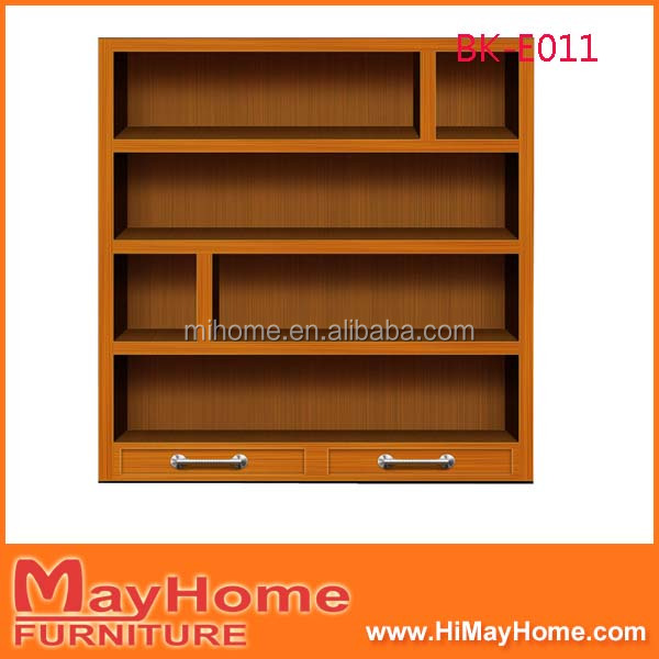 Oak Bookshelf Wood 5 Shelf Bookcase