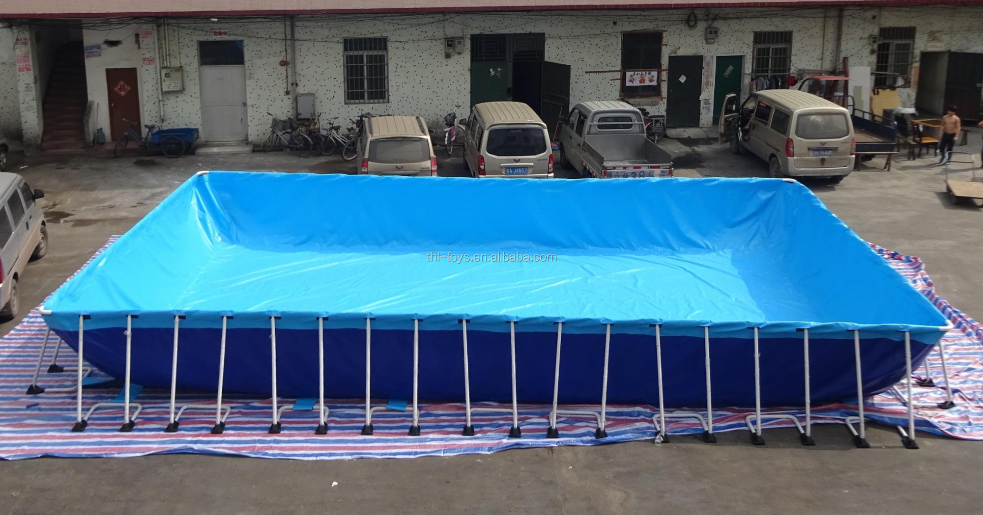 Portable metal frame swimming pool/used swimming pool for sale