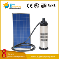 Brushless DC Solar powered High Pressure submersible water Pump price