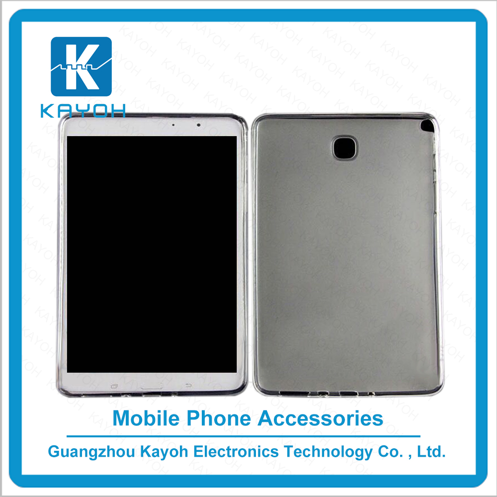 [kayoh]Best selling Custom Ultra Thin Gel Soft Clear TPU Back Cover transparent phone cases for Samsung Tab A