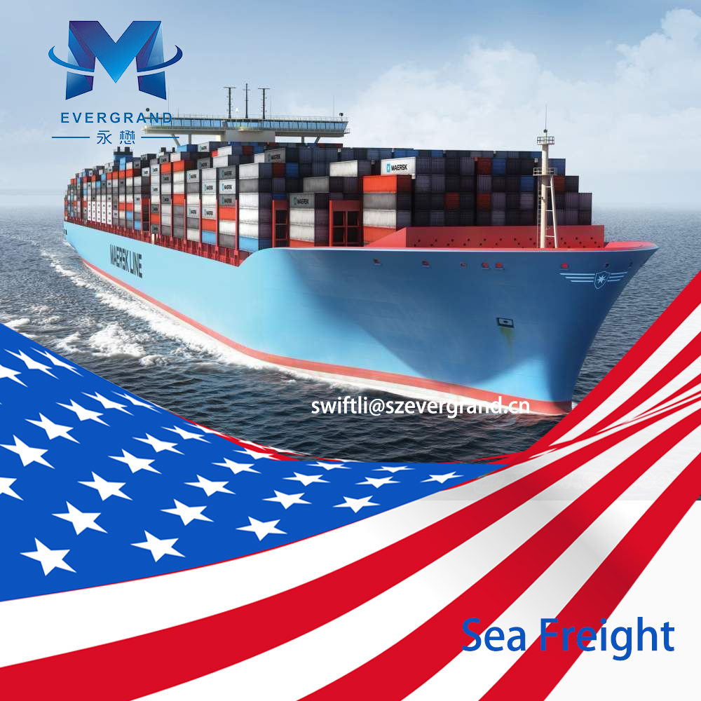 Competitive Sea Freight Rate from Guangzhou/Shenzhen/Hong Kong to Oakland