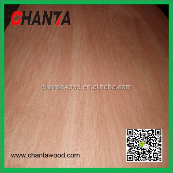 birch bintangor okoume hardwood china faced commercial plywood for furniture