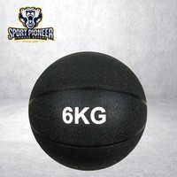 6KG Black Rubber Slam ball