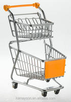 gift / toys/ desktop organization cart, double layer shopping trolley cart for kids