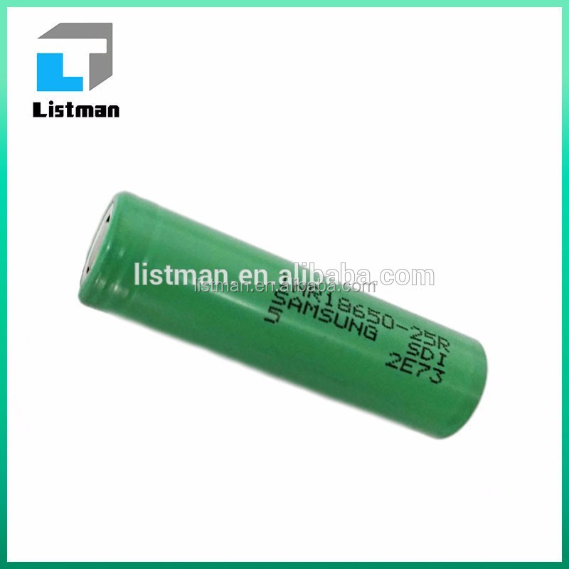 18650 battery hot china distributors INR 100% Authentic Factory price Samsung 25r 3.7V 2500mah 20A li ion battery 18650 us18650v