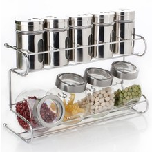 Kitchen accesories Kitchen tools cooking tools spice jar racks kitchen rack 2 layer KR01