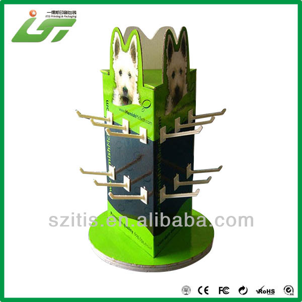 Professional cardboard counter top display stand wholesale