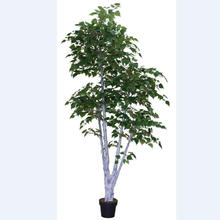 Shuyi decorative artificial white birch tree wholesale