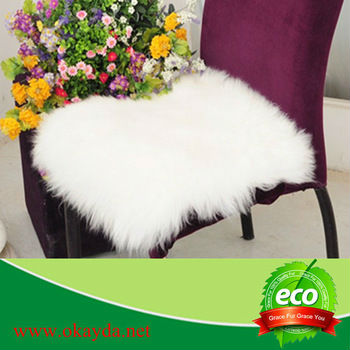 Natural Sheep Wool Chair Seat Cushion for sale