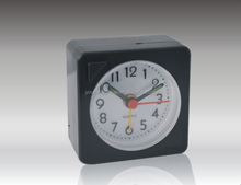 Square Shape Kent Table Clock With Plastic Material