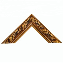 Excellent Quality Durable Home Decor Widely Used Wood Carved Red And Gold Wood Photo Frames, Home Decor