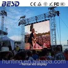 2019 full color outdoor p6 led screen, vibration screen, advertising screen