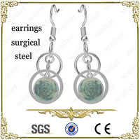 Anti-Faded Polycyclic Dangle Earring Surgical Steel