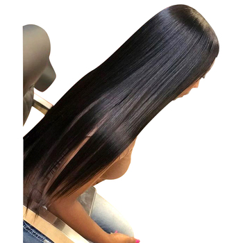 AAAAA colored hair crochet braids,100% unprocessed brazilian human hair straight