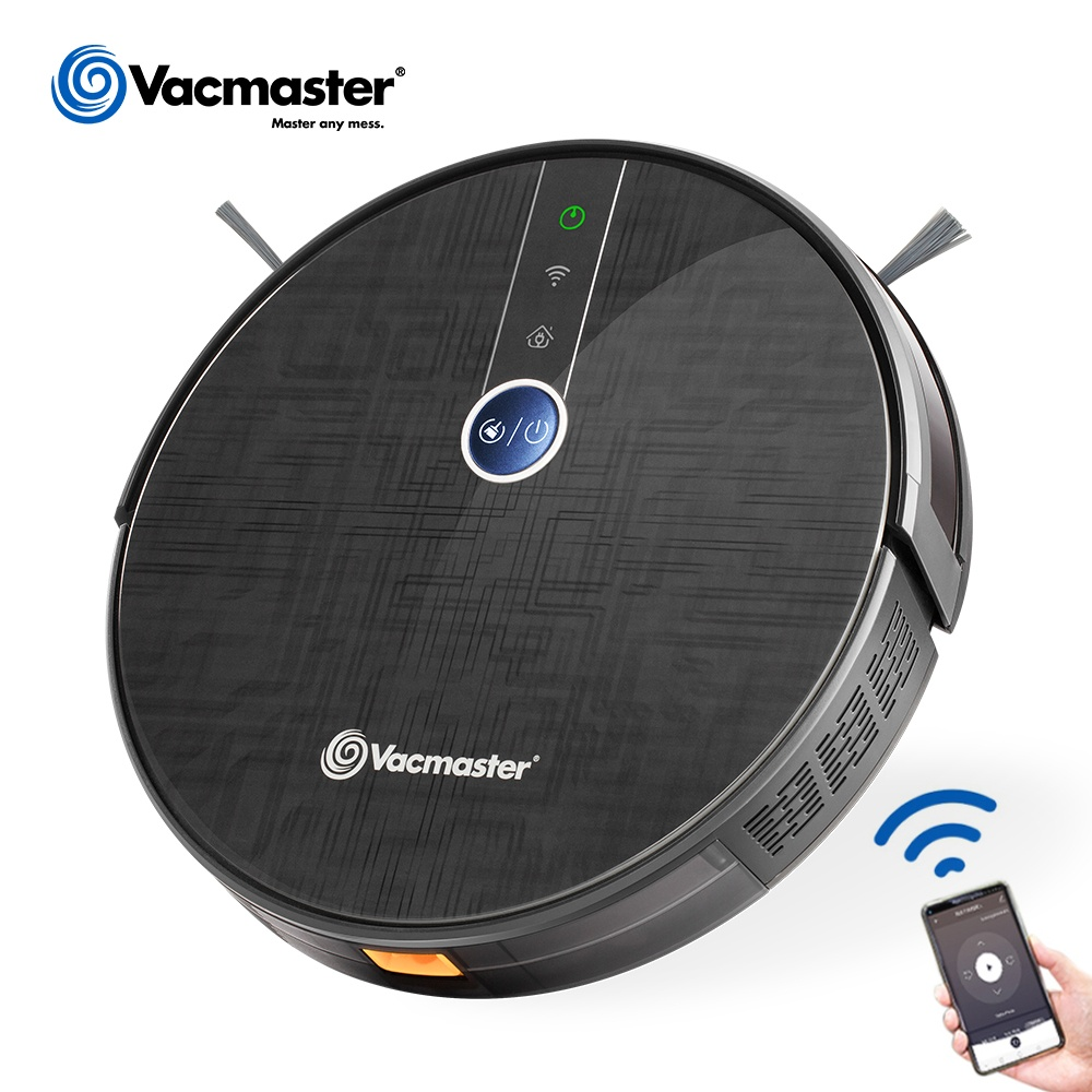 Vacmaster cordless robotic vaccum cleaner <strong>vacuum</strong> smart, gyro with WIFI APP Bagless dry mopping function Automatic , V16EU