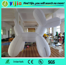 Shipped order giant inflatable dog for promotion events