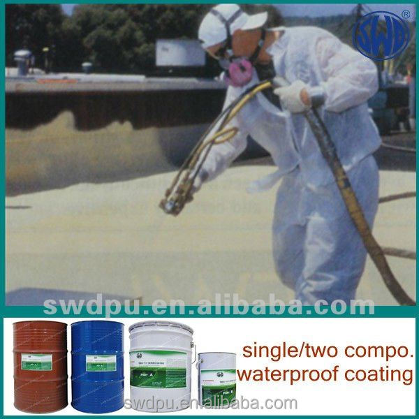 210L waterproof water based heat reflective roof coatings
