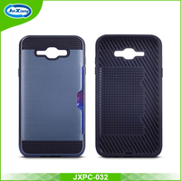 Fast Delivery Multifunctional PC TPU Armor Back Cover for Samsung J7