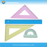 Custom 15cm Plastic Triangular Scale Ruler
