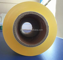 high tensile strength clear pvc food wrapping stretch film with color box