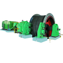 coal mine construction electric winch hoist