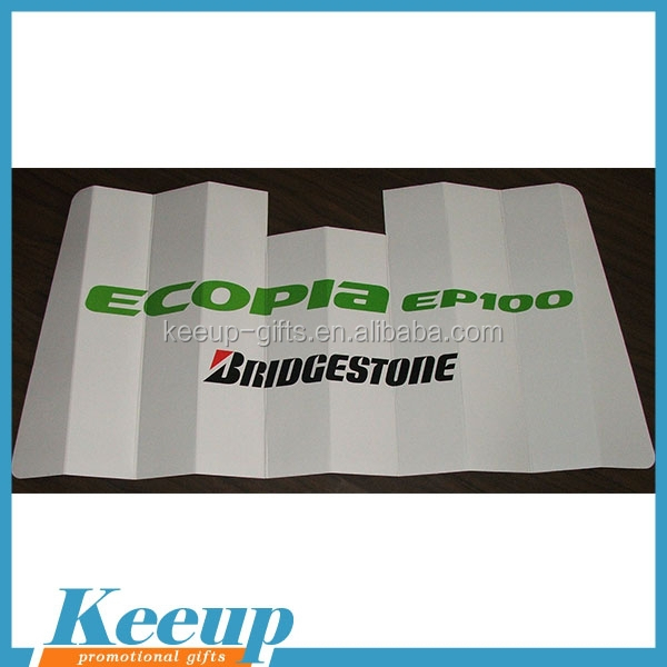 Car Accessories Promotional Cardboard Auto Sunshades
