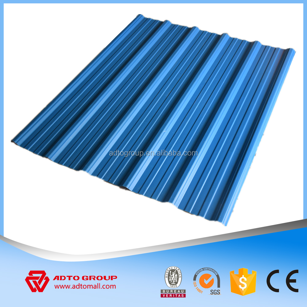 900mm,1030mm,1130mm UPVC Thermal Insulation Roof Tile