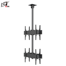 Cheap Price Ergonomic Aluminum Back To Back Telescoping TV Wall Mount Installation