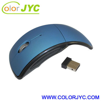 Fashionable 2.4GHz Foldable wireless mouse