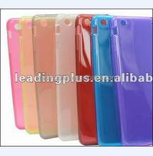 High Quality Factory Price TPU Crystal Back Cover Case for iPad mini