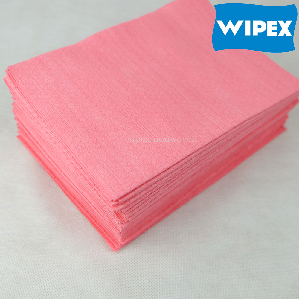 WIPEX industrial wipes suppliers cross lapping industrial cleaning paper roll