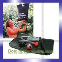 Latest Outdoor Single Handle Thermostatic PVC Camping Solar Shower Bag