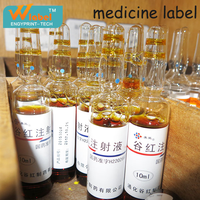 Non-toxin sticker tag for private pharmaceutical label