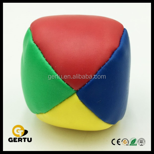2016 promotional pvc juggling ball,hacky sack,stuffed balls