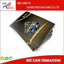 offset printing glossy lamination kitchen ware catalogue in saddle stitching