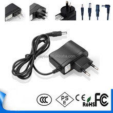 HS code adapter 9v 1a power adapter