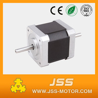 High torque and low noise nema 17 flat stepper motor china micro stepping electric motor