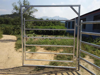 hot sale galvanized the horse and cattle gate