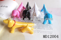 Colorful Dog designed plastic ballpoint pen best promotional gifts