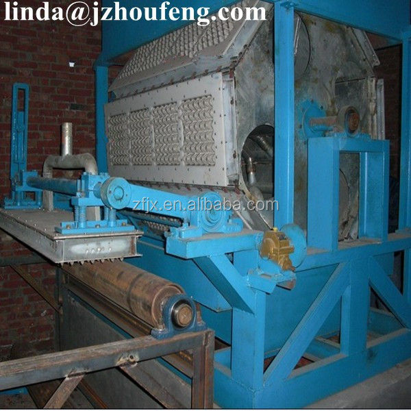 Paper recycling machine/egg tray fruit wine holder forming machine price india