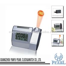 Pearl LCD clock with projector function Alarm Snooze Calendar PR505