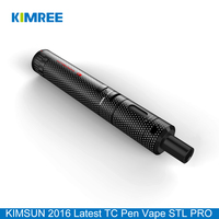 KIMSUN STL PRO TC30W Portable Vapor Pen Kit E Cigarette with Top Filling Tank Atomizer and Rechargeable Battery