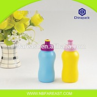 Popular promotional custom recycle plain plastic water bottle
