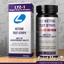 FDA approved ketone dipsticks Amazon hot sale ketone test strip