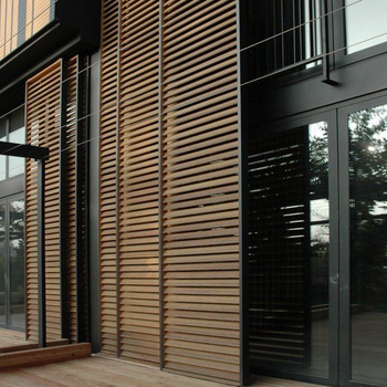 High quality aluminium shutter