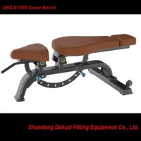DHZ Brand-Super Bench-Adjustable Abdominal Muscle Bench -Indoor Commercial Training Machinery