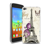 In Stock Various Patterns Flora Art Printed Gel Soft TPU Phone Case For Lenovo S60 Mobile Phone Cover Back Silicon Case