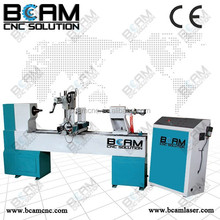 Hight quality and top precision !hot sale cnc wood lathe 15030 used for bar stool legs ,chair !