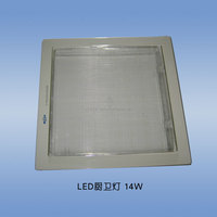 14w high brightness 1400lumen led panel light 200x200mm