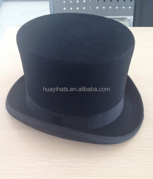 black stain mini top hat wholesale